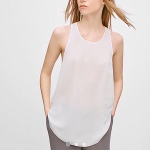 Aritzia Wilfred Sevres Blouse in Espace, Sz Small